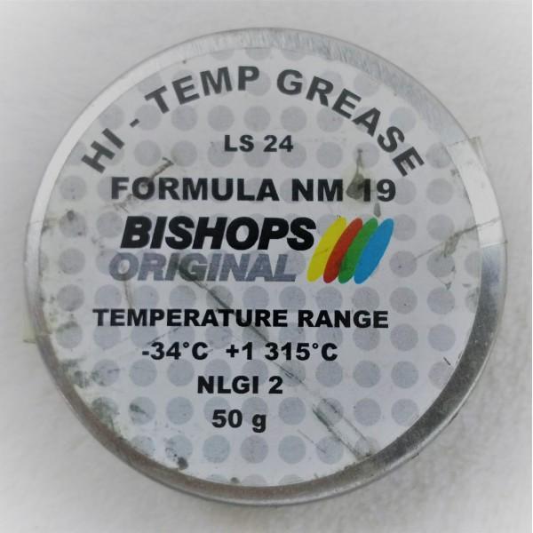 NM-19 smar wysokotemperaturowy na bazie grafitu – 29°C do +1.315°C op. 50 ml
